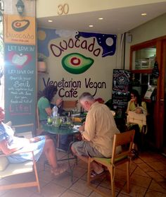 Avocado- The most popular and a well-known veggie restaurant in Athens. Avocado's diverse menu options include entrees, soups, salads and more.  #Travel #Athens #VeganTravel #GoGreen