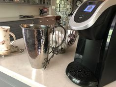 Welcome to Crafted Decor Coffee Station Kitchen, Home Coffee Stations, Tea Station, Black Orchid, Everyday Items, Coffee Machine, Something Beautiful, Keurig, My Coffee