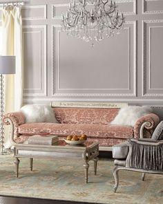 Norris Tufted-Back Sofa