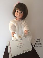 RARE  Julie Good Kruger Doll MARSHMALLOW LE 481/500 Jointed Toddler body COA Vinyl Dolls, Selling Antiques, Reborn Dolls, Marshmallow, Plush, Toys, Marshmallows, Reborn Baby Dolls, Toy