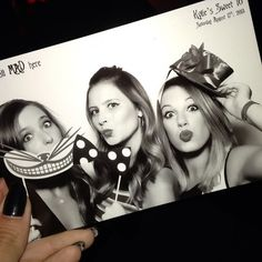 Wonderland Photo Booth Kylie Jenner Sweet 16