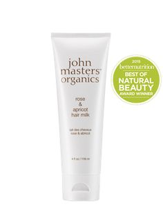 Ros & Apricot Hair Milk from John Masters | Find more cruelty-free beauty @Quirkist |
