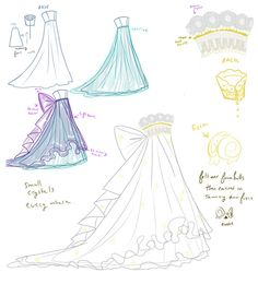 Sailor Moon, Princess Serenity gown