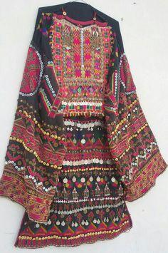 Afghan Clothes, Afghan Dresses, Tribal Fashion, Asian Fashion, Kurta Designs, Blouse Designs, Folk Clothing, Tribal Dress, Gala Dresses