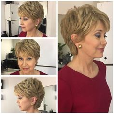 Tunsori par scurt pentru femei peste 50 ani 20 Jane Pauley, Medium Hair Styles, Thin Hair Styles For Women, Short Hair Cuts For Women Over 50, Hair Styles 2016, Curly Hair Styles, Short Cuts, Great Haircuts, Short Choppy Hair