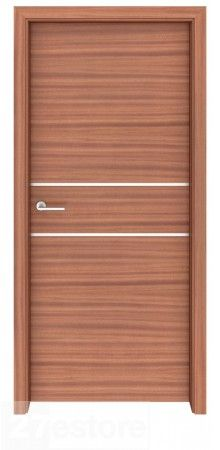 This Sapele Mahogany Interior Door Flow will add years of beauty and functionality to your home or office  #home #door #mahogany