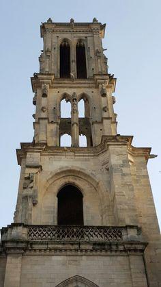 Tour St Maclou - Mantes-La-Jolie - Mantois - Yvelines - Ile de France - France