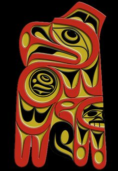 Eagle Spirit, west coast art by First Nation artist Joe Wilson