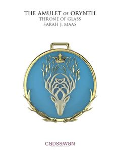 New THRONE OF GLASS jewelry alert! First look at Janet Cadsawan's design for The Amulet of Orynth from HEIR OF FIRE. (Design not 100% final yet.)