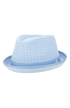 13d470ac958 Original Penguin  Miramar  Gingham Check Fedora available at  Nordstrom  Straw Fedora