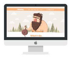 My Personal Portfolio Website Design designed by Luke Tudor. Personal Website Design, Portfolio Website Design, Personal Portfolio, Character Design, Web Design, Illustrations, Design Web, Illustration, Site Design