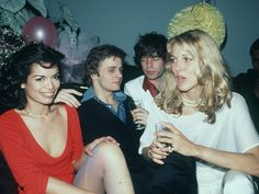 Bianca Jagger's birthday at Studio 54.
