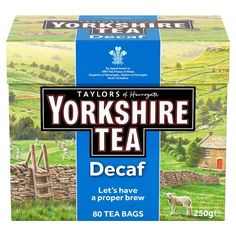 Yorkshire Tea Decaf, 80 Tea Bags Taylors of Harrogate https://www.amazon.co.uk/dp/B014PCSYIS/ref=cm_sw_r_pi_dp_x_i2D1ybA7SJYDB