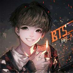 Fanart of BTS Jungkook *.*
