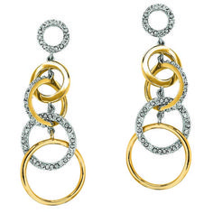 yellow-gold-chain-diamond-earrings