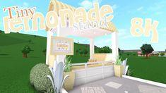 Bloxburg | Lemonade Stand 🍋🌿 | Speed Build Sims House Design, Unique House Design, Tiny House Bedroom, Bedroom House Plans, Tiny House Layout, House Layouts, Home Building Design, Home Design Plans, City Layout