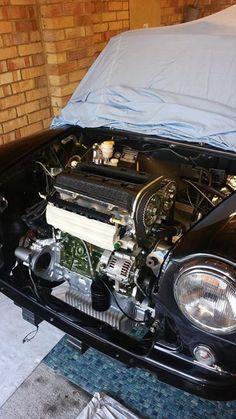 #mini Mini Cooper Classic, Classic Mini, Post War Era, Mini Drawings, Mini Coopers, Power Cars, Bmw, Car Engine, Small Cars