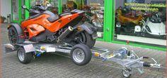 JSS: Transportanhänger für Trikes Optimiert für kleine Moto-Trikes und die Can-Am Spyder hat JSS-Automotive seine Transportanhänger für Trikes, die sich obendrein platzsparend lagern lassen http://www.atv-quad-magazin.com/aktuell/jss-transportanhanger-fur-trikes/