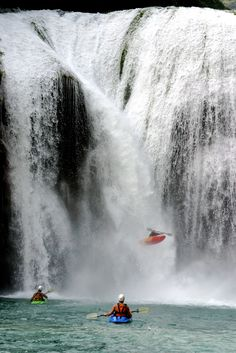 Been there - Extreme kayaking, Chile