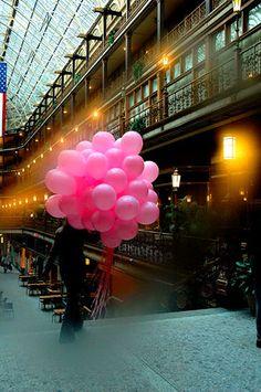 Balloon Girl by Omom, via Flickr