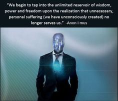 """""""You cannot choose freedom for another. Everybody evolves in a different way, at their own pace. Some require more wake up calls (hardship and suffering) than others in order to shake them into an awakened state."""" -Anon I mus (Spiritually Anonymous"""