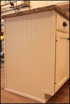 Updating Builder Grade End Cabinets - Evolution of Style