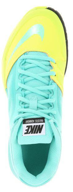 Neon Nikes! http://www.towpathtennisshop.com/nike-df-ballistec-advantage-womens-tennis-shoe-337/