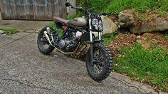 scramblers trackers Yamaha XT660R #LT