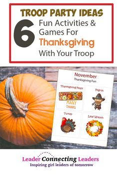 cb78433530ea70 6 Fun Activities and Games for a Thanksgiving Party with Your Girls