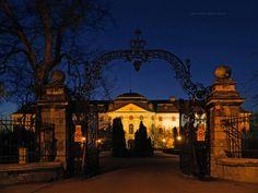 Episcopal Palace (1762-1777), Oradea / Nagyvárad, Romania | Flickr - Photo Sharing! Art Nouveau Architecture, Austro Hungarian, Art Nouveau Design, Bucharest, Romania, Big Ben, Palace, Night, Building