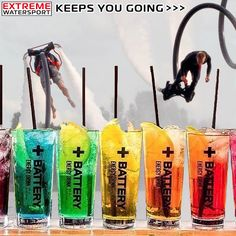Extreme Watersport powered by #batteryenergydrink #energydrink