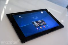#Sony claims the Xperia Z2 Tablet is the world's thinnest and lightest waterproof slate (update:hands-on)