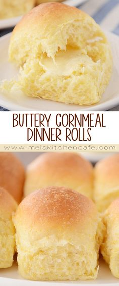 The hint of cornmeal mingled with the light sweetness of the dough make these extra-fluffy, cornmeal dinner rolls one of my favorite rolls of all time!