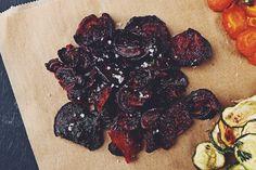 Gemüsechips selbstgemacht: Einfach gesund snacken: Rote-Beete-Chips