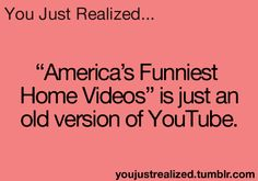 You Just Realized When U See It, When You Love, The More You Know, Weird Facts, Fun Facts, America's Funniest Home Videos, You Just Realized, Funny Quotes, Life Quotes