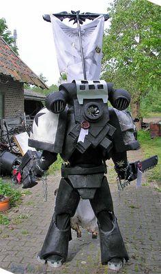 Black Templar Initiate Space Marine from Warhammer 40k