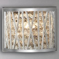 Buy John Lewis Emilia Crystal Drum Wall Light from our Wall Lighting range at John Lewis. Flush Ceiling Lights, Wall Lights, John Lewis Lighting, Crystal Beads, Crystals, Modern Wall Sconces, All Wall, Light Fittings, Modern Lighting