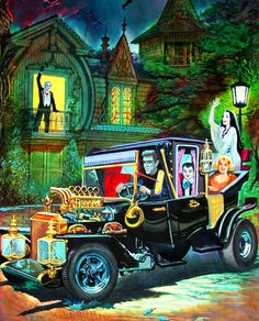 Munsters Koach - design by George Barris for The Munsters tv show