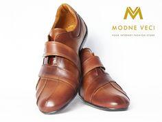 Elegantné a zároveň športové topánky pre muža. Hnedé topánky sú vyrobené z…