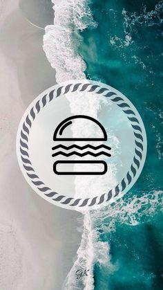 #Instagram #storie #Insta #capa Story Instagram, Instagram Logo, Instagram Design, Instagram Feed, Beach Highlights, Words Wallpaper, Waves Logo, Instagram Background, Insta Icon