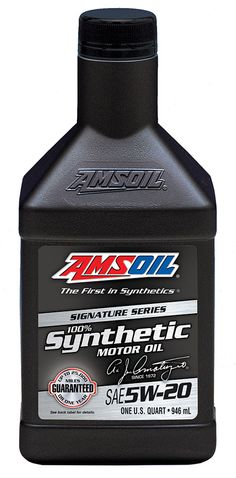 AMSOIL Signature Series 5W-20 Synthetic Motor Oil - Click on picture -
