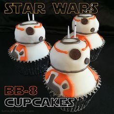 photo credit: Baking Mischief BB-8 cupcakes for graduation? Yes, I know some kids that would love these for graduation and I think BB-8 would look cute with a graduation cap. If you are planning a …