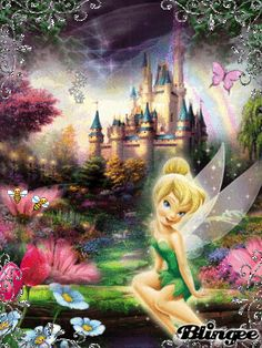 Tinkerbell  At Home in the Fairy Woods