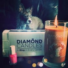 Do you love candles and rings? yess cinn roll!!!