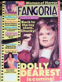 FANGORIA #102 Magazine May 1991; Barbara Steele, Nightmare's Freddy, Caroline Munro, Brinke Stevens, Dark Shadows, Women Of Horror