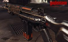 ArtStation - Assault Rifle 1960, Nicholas Cort