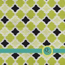 green geometric fabric - Google Search