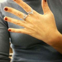 Nuovi anelli in argento 925  #ring #silver #glamour #moda #forlì #stile #beautiful #accessory #jewelry #shopping