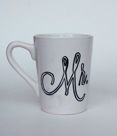 Traced Mr Sharpie Mug