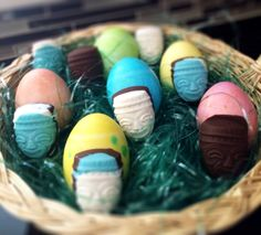 Chocolate Tiki Candy...super cute!! www.talesfromthetiki.wordpress.com